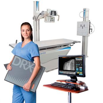 Рентгеновский комплекс QUANTUM Q-RAD Digital DRX